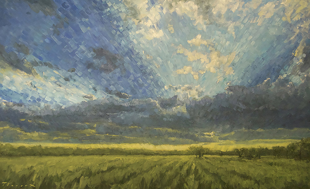 BELLE PLAINE 30X48 oil