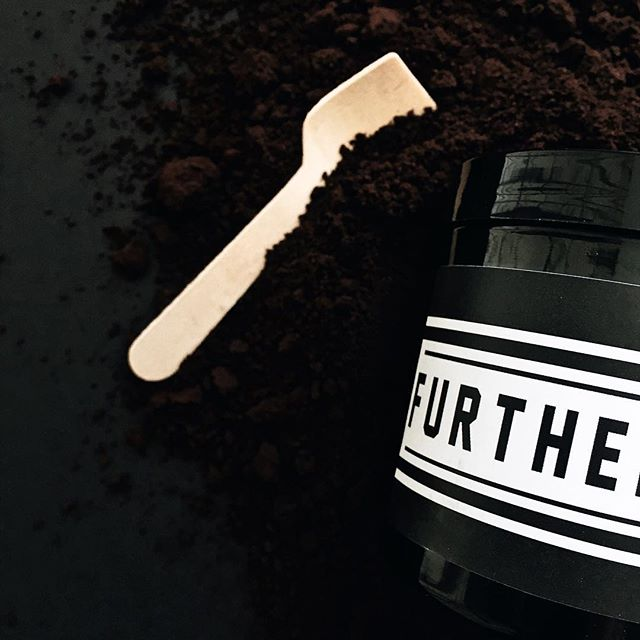 A sugar scrub made with coffee... the perfect shower pick me up! Smooth glowing skin with a little caffeine. 😉  Hit the shop (link in bio) today using promo code SUMMERTIME for 30% off. This code is only good until Friday!  #livefurthermore