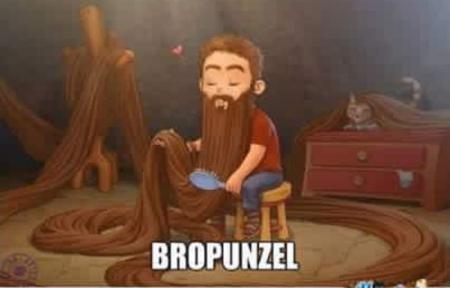 Romancing the beard?