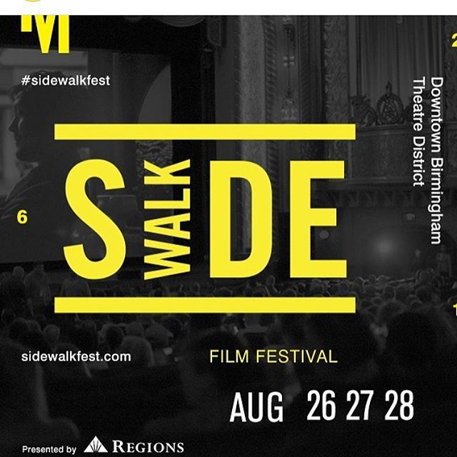 Planning on going to @sidewalkfilm this weekend? Well check out my post about everything I'm looking forward to seeing! It's not too late to get your passes! (Link in profile!) #sidewalkfest #sidewalkfestival #instagrambham