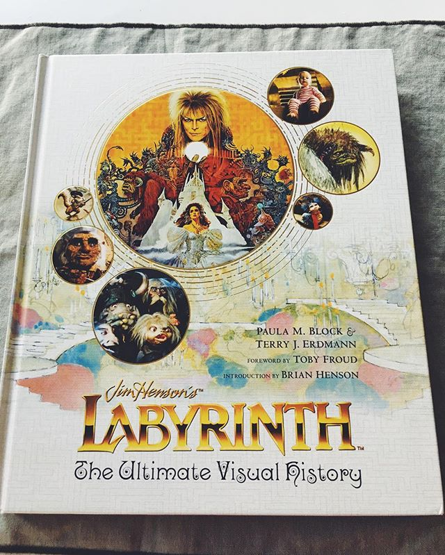 When you come home and forgot you pre-ordered this, it's like Christmas. #labyrinth #jimhenson