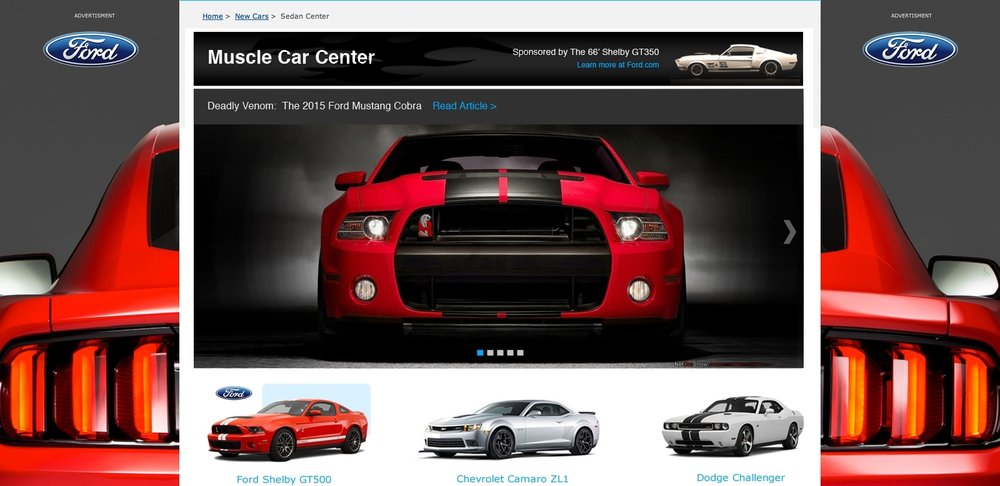 MUSCLE CAR CNETER