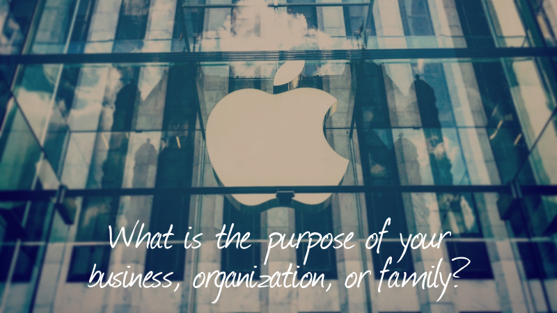 Enrich-What Is The Purpose Of Your Business, Organization, Family?