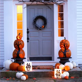 I Was Leafing Through Pinterest The Other Day Looking For Fall Decorating Ideas My Front Porch And Thrilled To Come Across This Image From Good
