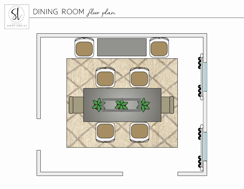 Dining Room Floor Plan ~ Miller_portfolio.jpg