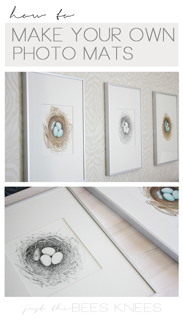 How to make your own photo mats — Interiors By Sarah Langtry