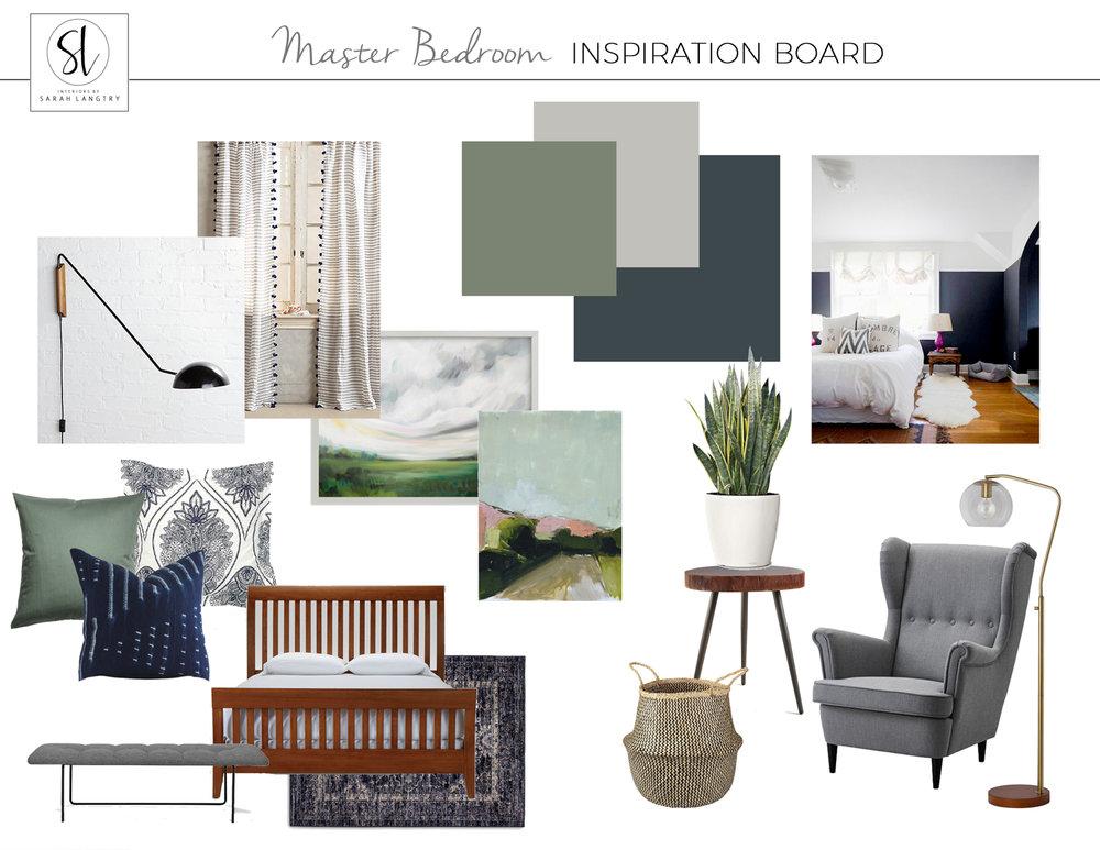 Modern Craftsman Master Bedroom