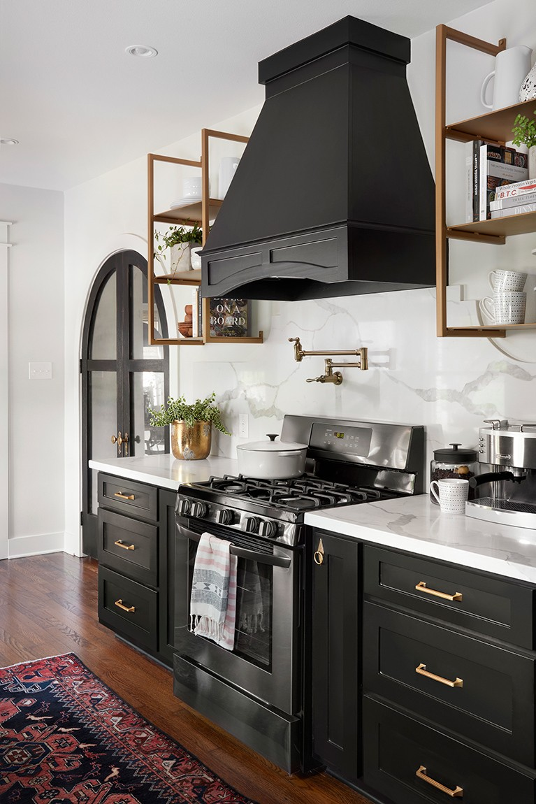 Trendy Tuesday Black Cabinetry Interiors By Sarah Langtry