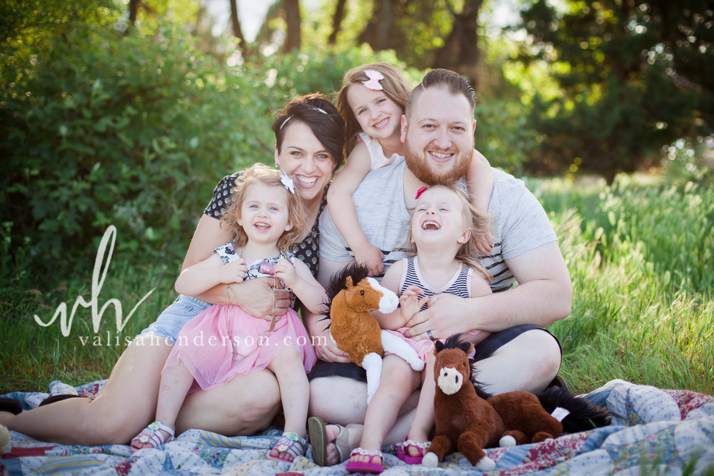 Yreka Family Photography at Greenhorn Park