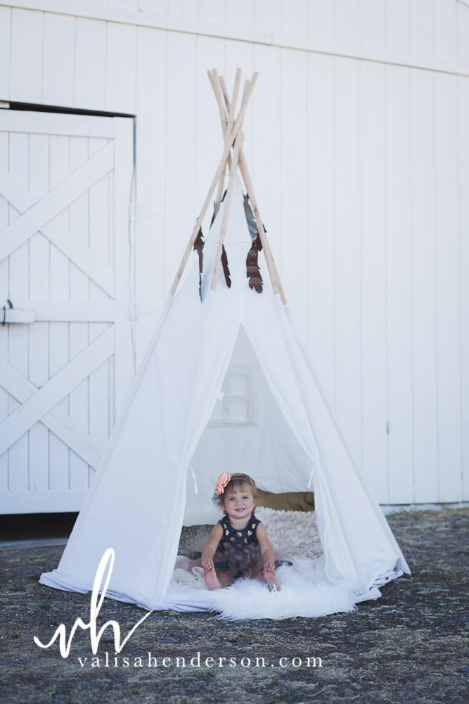 Tee Pee Photo Fur rugs