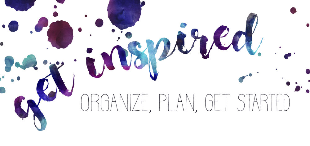 Resolutions to get Organized