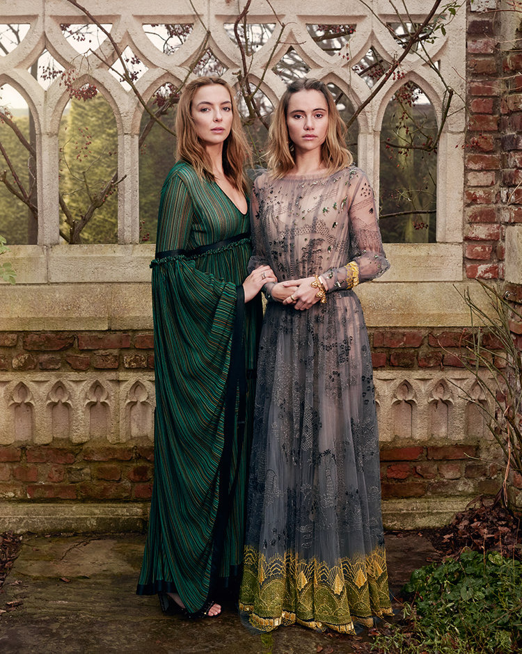 British Vogue - Suki Waterhouse & Jodie Comer