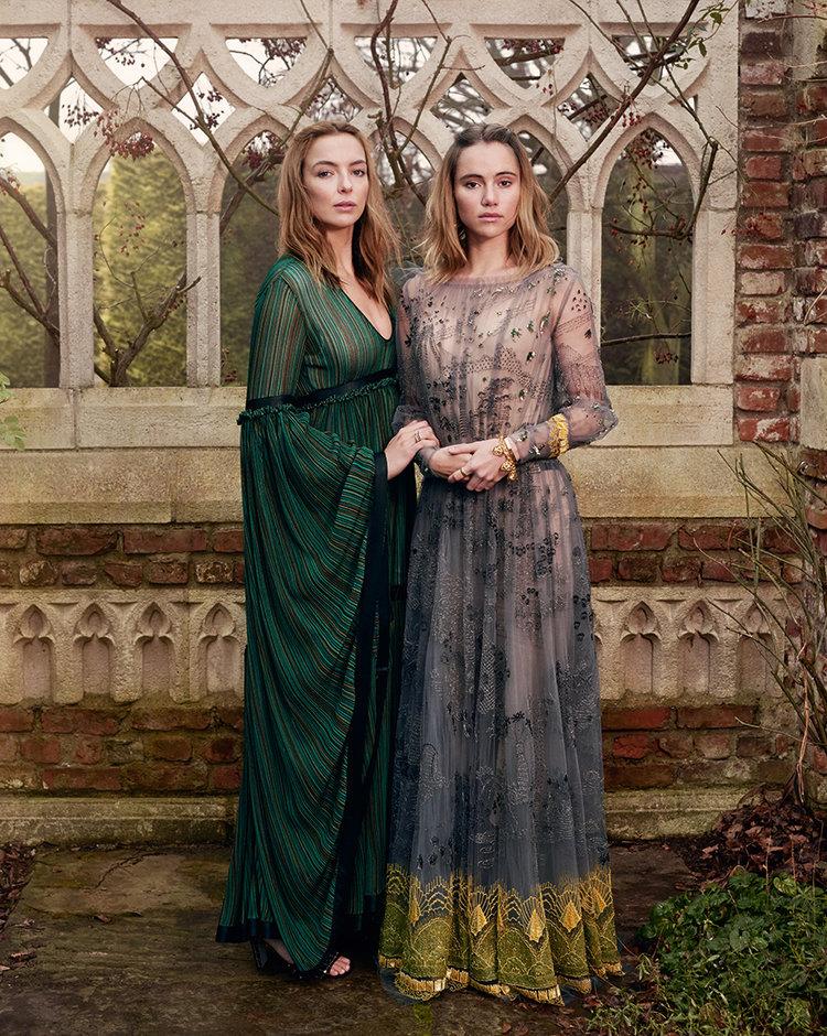 British Vogue - Suki Waterhouse & Jodie Comer