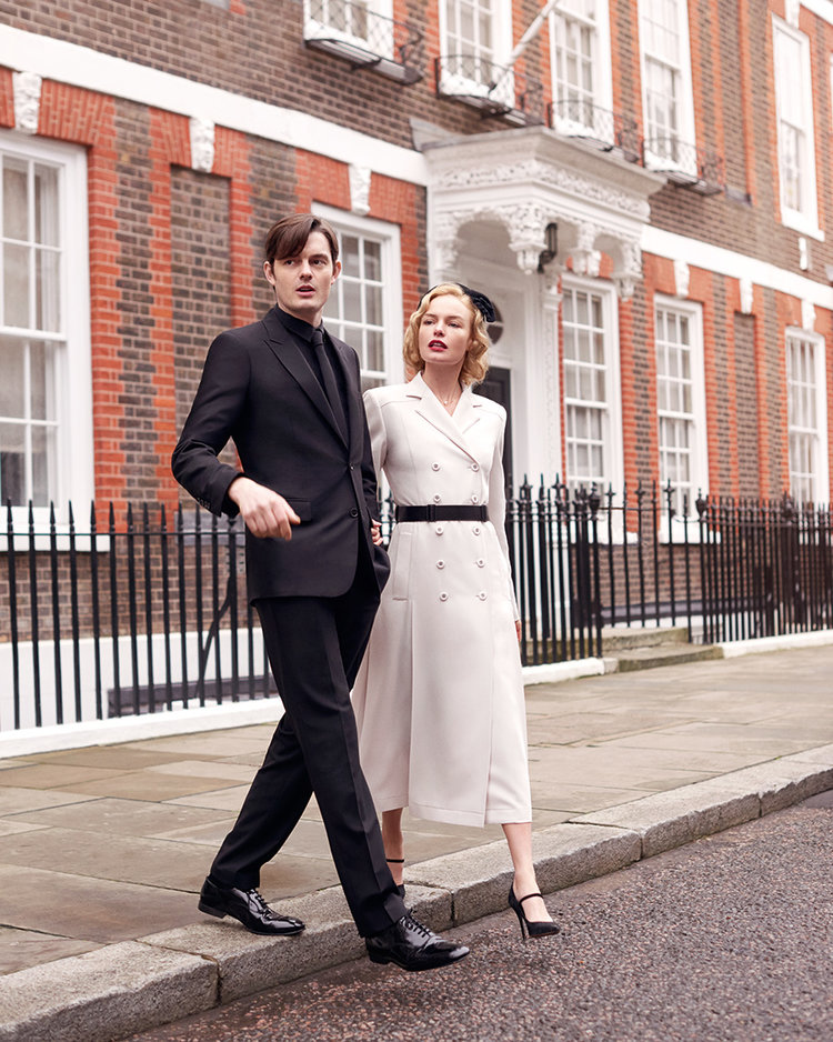 British Vogue - Kate Bosworth & Sam Riley