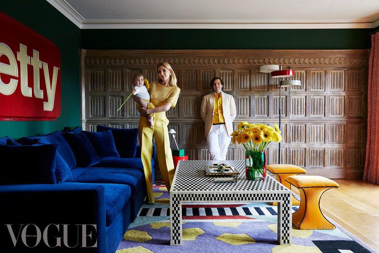 British Vogue - Sabine Getty