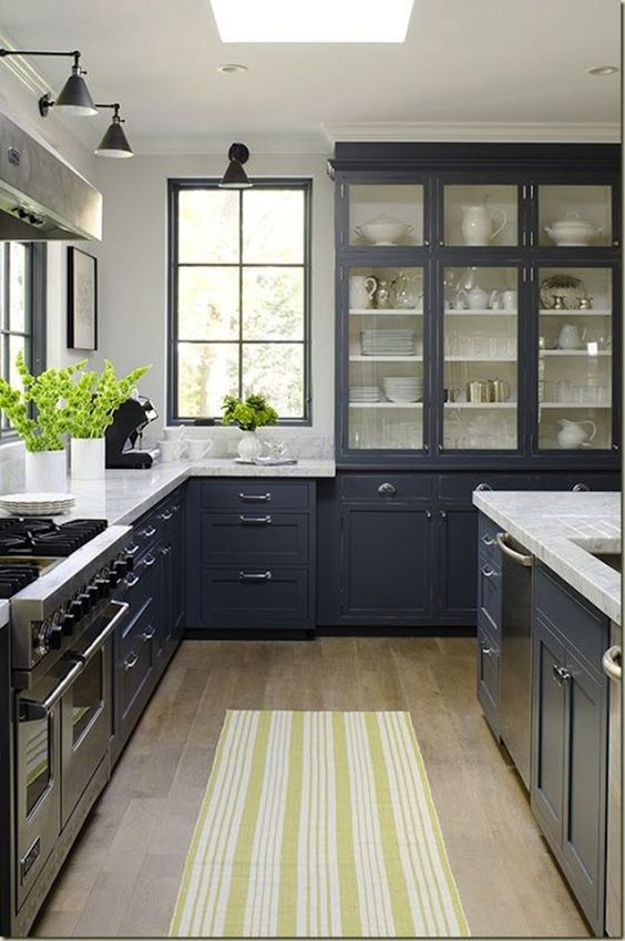 PART II: Unconventional Kitchen Trends: Navy & Black Paint — Ivy Unconventional Kitchen Cabinets on funny kitchen cabinets, unique kitchen cabinets, untraditional kitchen cabinets, country kitchen cabinets, alternative kitchen cabinets, homemade kitchen cabinets, independent kitchen cabinets, rustic kitchen cabinets, old farmhouse kitchen cabinets, unusual kitchen cabinets, kitchen pantry cabinets, funky painted kitchen cabinets, playful kitchen cabinets, kitchen storage cabinets, utilitarian kitchen cabinets, crazy kitchen cabinets, fresh kitchen cabinets, refurbished kitchen cabinets, using furniture as kitchen cabinets, new kitchen colors that go with oak cabinets,