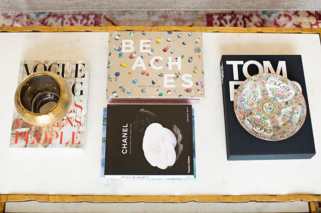 Love this shot of some of my favorite coffee table books// Always check out the used book section on Amazon or your local used book store for some good deals on books//#ivyhouseinteriors