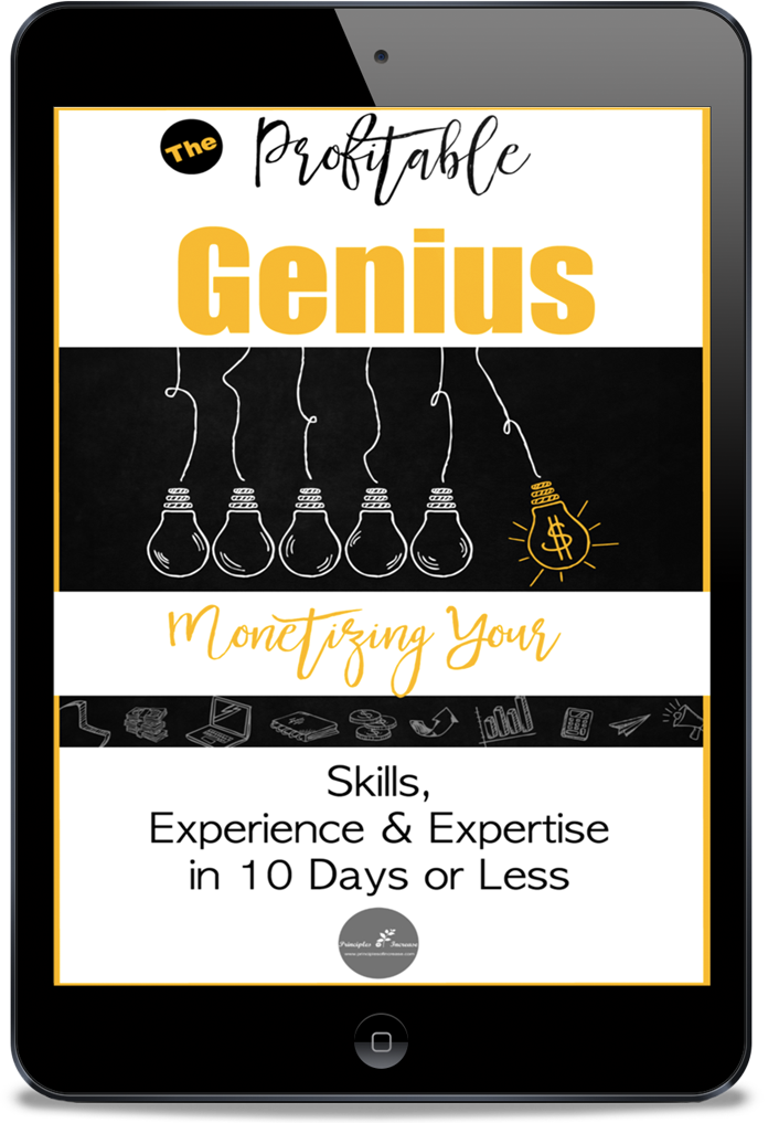 Profitable Genius Course - Monetize Your Ideas in 10 Days or Less!