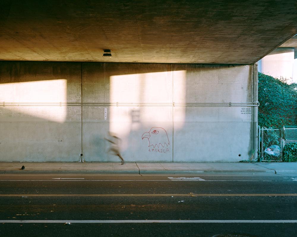America, I-580, Oakland, CA