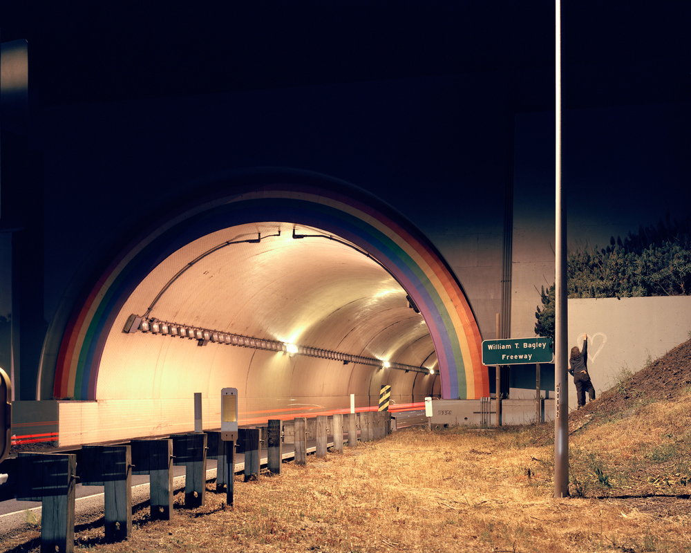 Rainbow Tunnel, Hwy. 101, Sausalito, CA