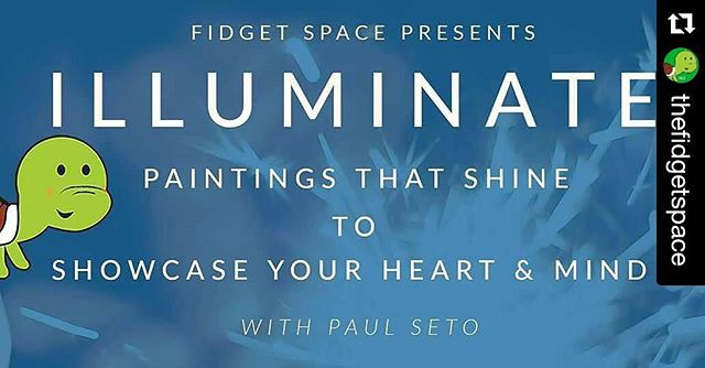 #Paint Night? Oh c'mon this seems more exciting.... #Illuminate ? There's something special about this event that'll make sure your art and expression is timeless ! #FidgetOn