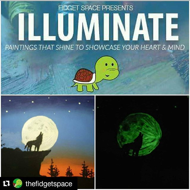 #Repost @thefidgetspace with @repostapp ・・・ Only ONE more day! It's a long weekend and you may have plans, but how about all the lovely people that may not be joining you?  We know a way you make it up to them! Bring em out to the #Illuminate #Paint night at The Fidget Space tomorrow ! We'll have some music, fancy sparklers and make it a memorable evening for you and yours !  RSVP today to save!  #FidgetOn  http://www.eventbrite.ca/e/fidget-space-presents-illuminate-tickets-25837949001?aff=eand&ref=eand
