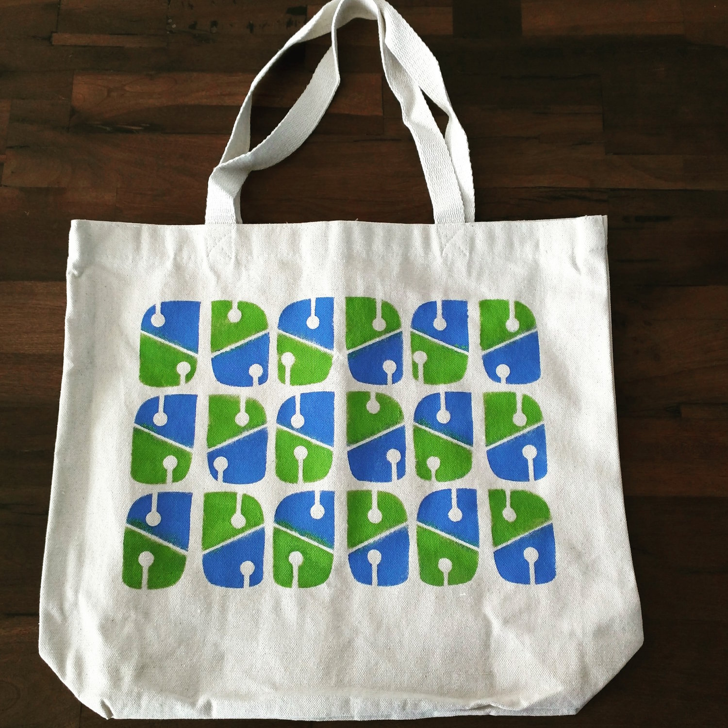 Large Canvas Tote Bag Early Girl Press