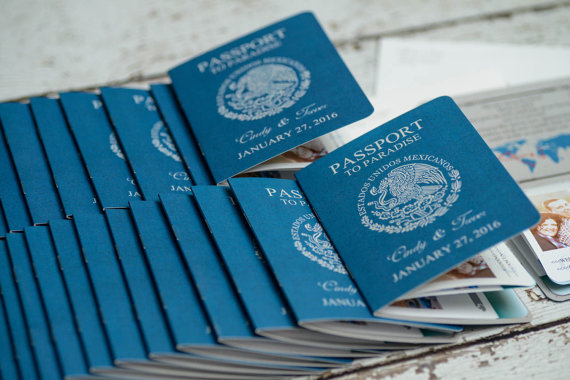 Passport Invitation for a destination wedding by EmpireInvites on Etsy $2.34+