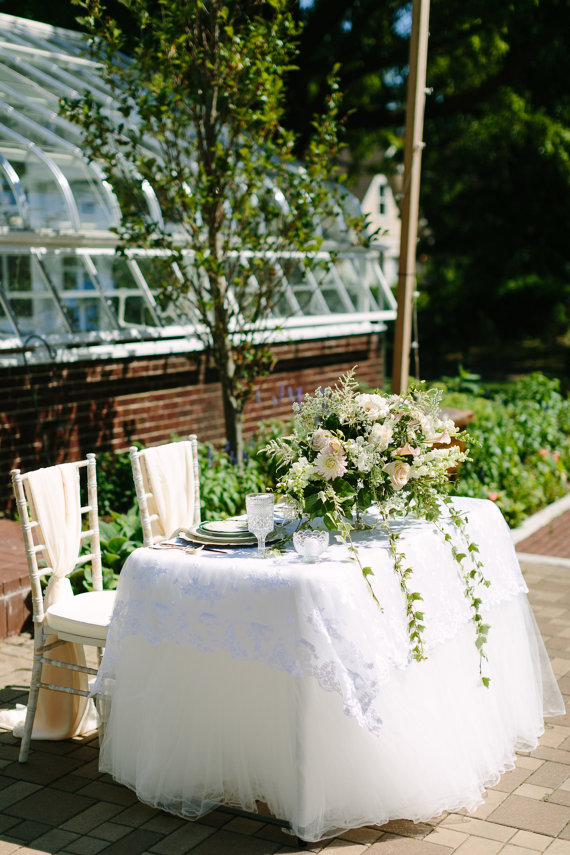 Tulle Tutu Tablecloth by Mrs. Freund & Co. $135+