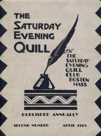 Saturday Evening Quill, Vol. 2 April 1929