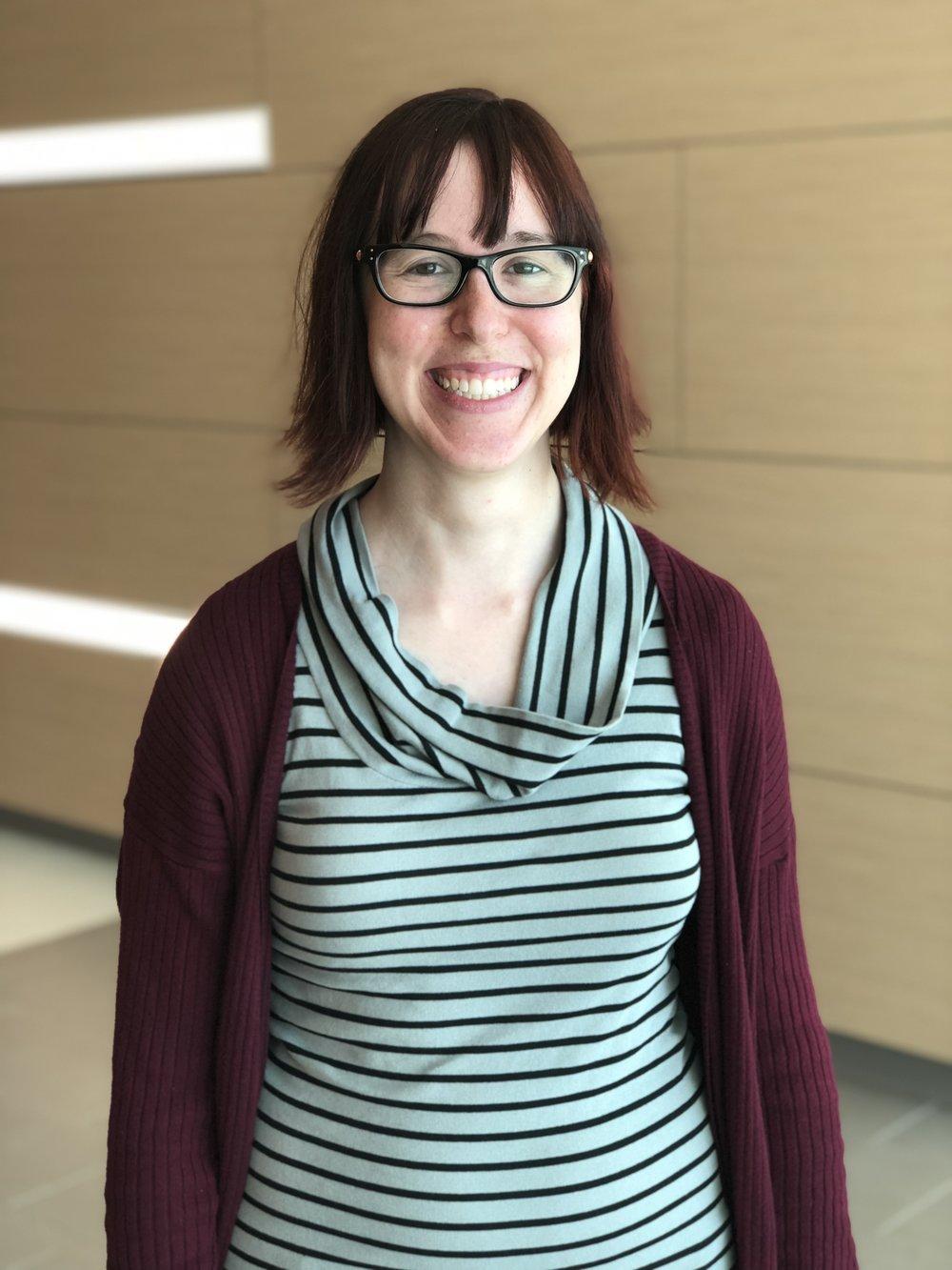 Lauren Welich-Holtman, music therapist