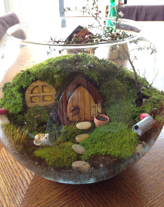 source - Fairy Garden Terrarium