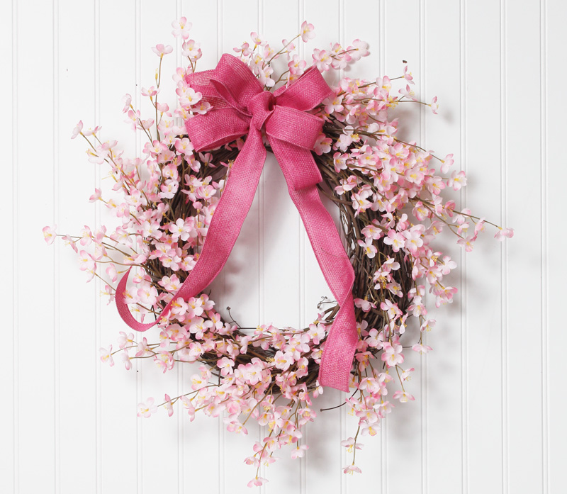 Each and every one of our floral designs are handmade by us – choose from wreaths, swags and arrangements.