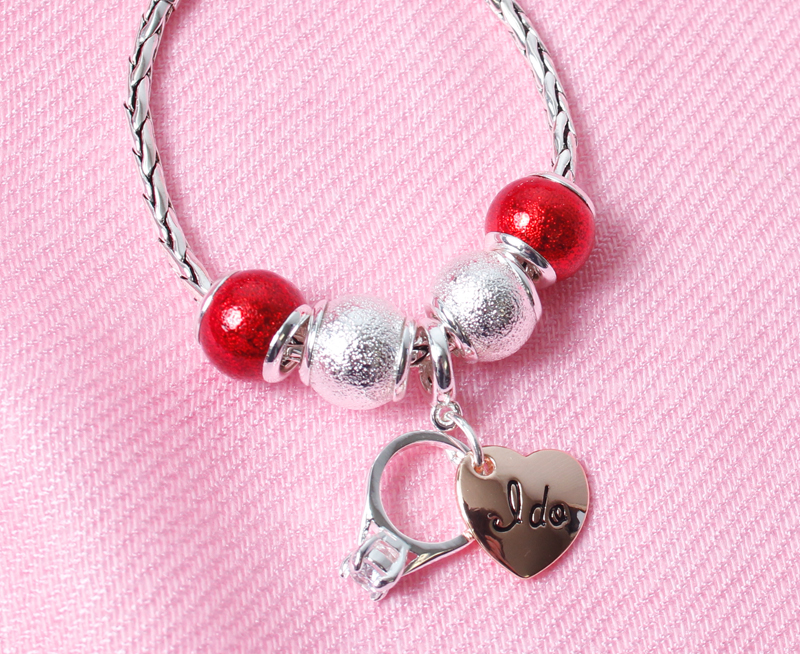 Fill bracelets and necklaces with beads and charms she'll love from DaVinci, located in our boutique.