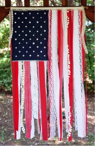 4th of July Ribbon DIY projects.