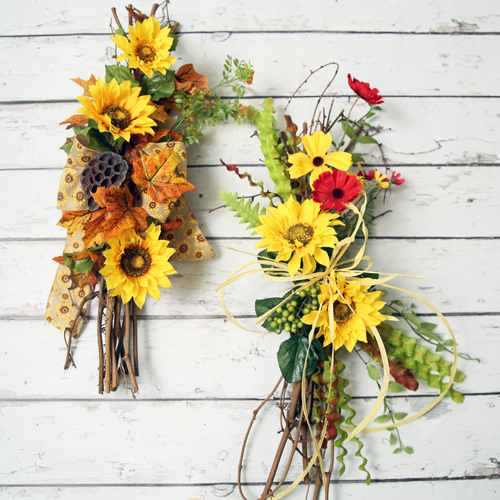 Handmade Sunflower Floral Designs from Prairie Gardens, Champaign IL (Selection May Vary)