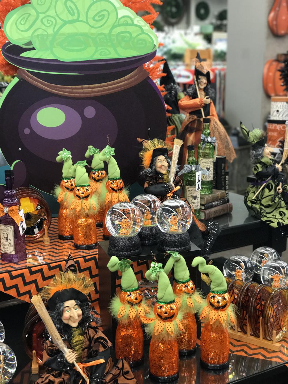 Halloween Decor at Prairie Gardens, Champaign IL
