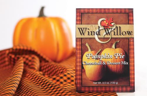 Wind & Willow Pumpkin Pie Cheeseball & Desert Mix at Prairie Gardens in Champaign, IL