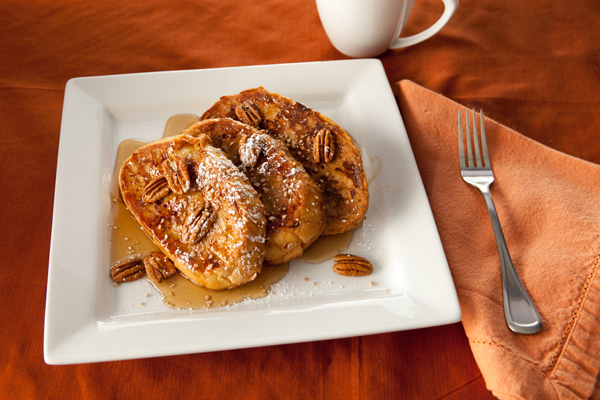 Pumpkin French Toast from Wind & Willow