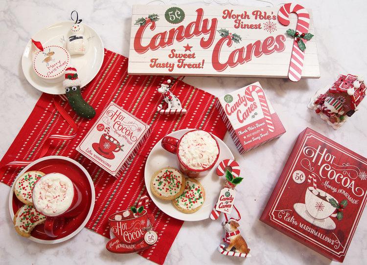 North Pole Ornament & Accent Theme Available at Prairie Gardens, Champaign IL