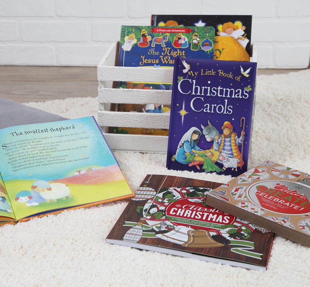 Christmas Childrens Books, Available at Prairie Gardens, Champaign IL
