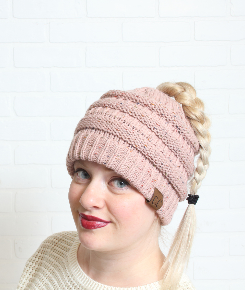 Ponytail hats, available for a limited time in Prairie Gardens  Boutique , Champaign IL • $13.97, reg. 19.99