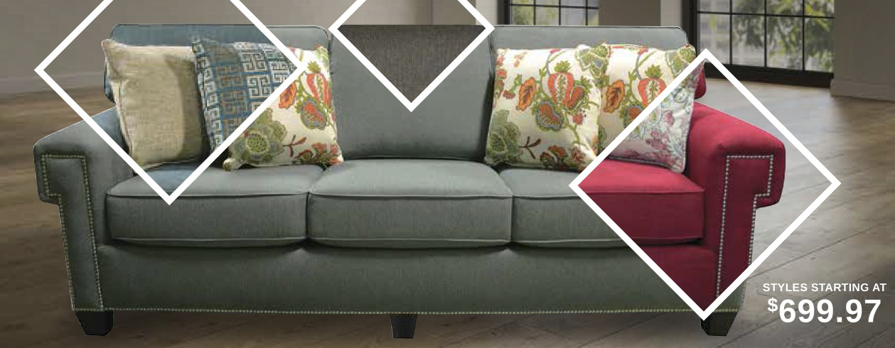 Prairie Collection Custom Sofas