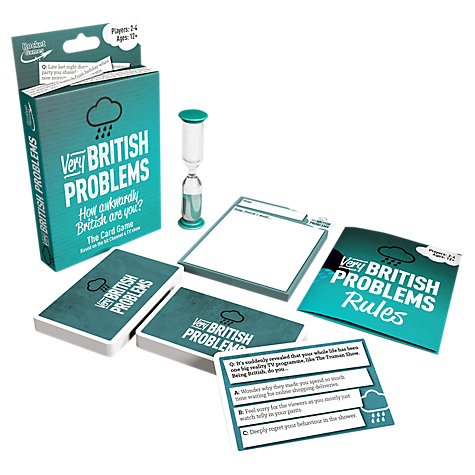 The new Very British Problems Card Game