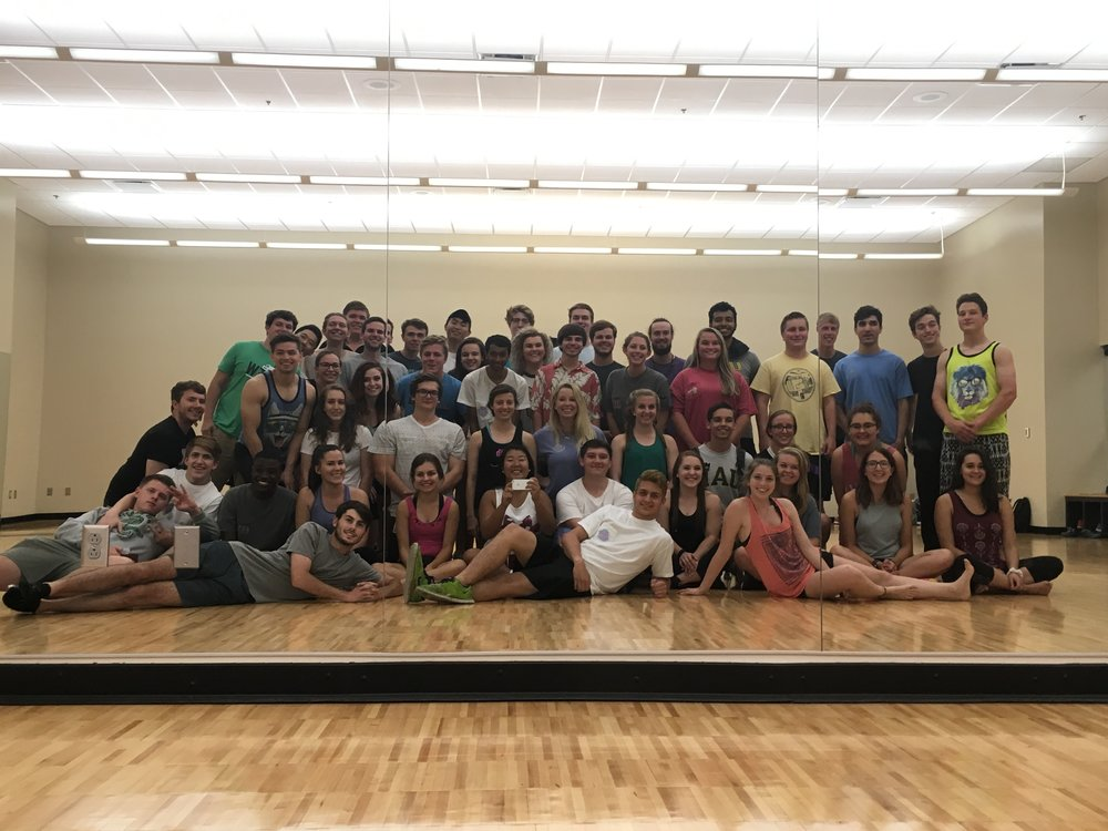 Yoga Mixer with Sigma Kappa, Fall 2016
