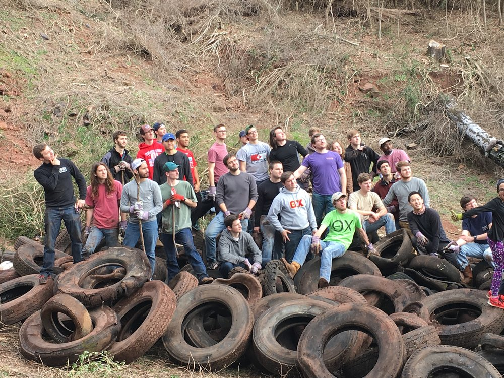 Red Mountain Cleanup Day, Spring 2016