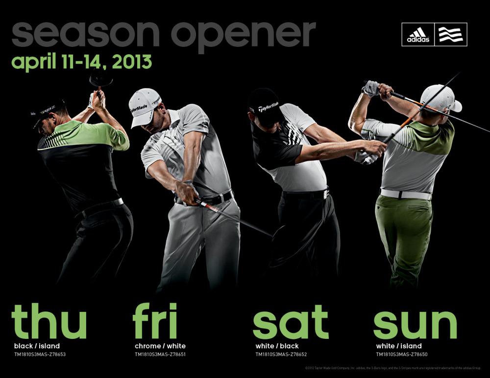 2013 Masters: adidas Golf | adidas Golf