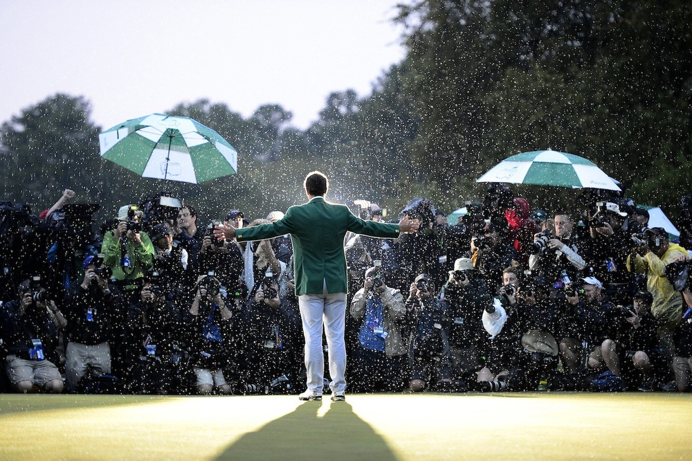 (Xinhua/Scott K.Brown/Augusta National)