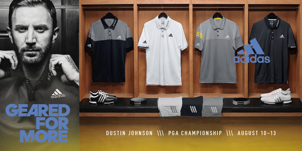 Dustin Johnson - adidas Golf