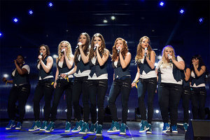 Spending a day onset at the filming of Pitch Perfect 2 was one of the most exciting auction lots of 2014.